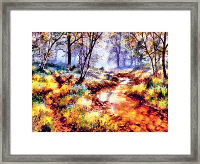 Winter Is Coming Framed Print by Georgiana Romanovna