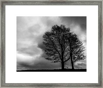 Winter Is Here Framed Print by Tim Buisman
