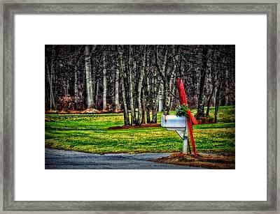 Winter Is On The Way Framed Print