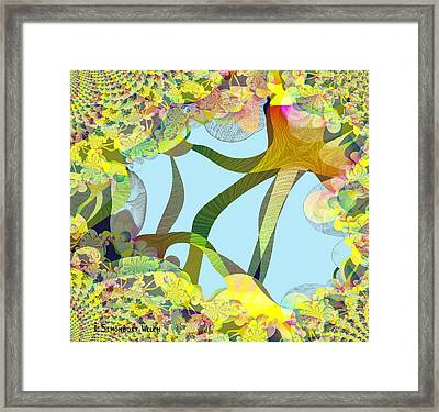 Winter Is Over - 515 Framed Print by Irmgard Schoendorf Welch