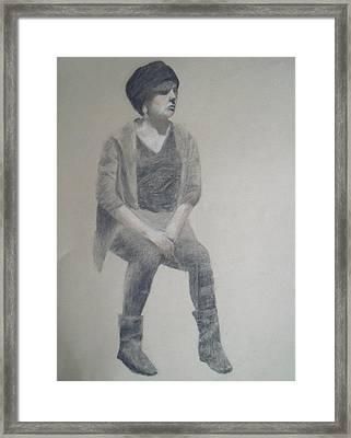 Winter Framed Print by Jessica Sanders