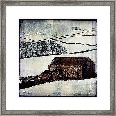Winter Landscape 1 Framed Print by Mark Preston