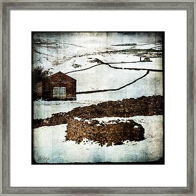 Winter Landscape 2 Framed Print by Mark Preston