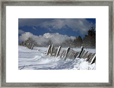 Winter Framed Print by Lepercq Veronique