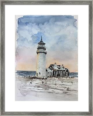 Winter Light Framed Print by Stephanie Sodel