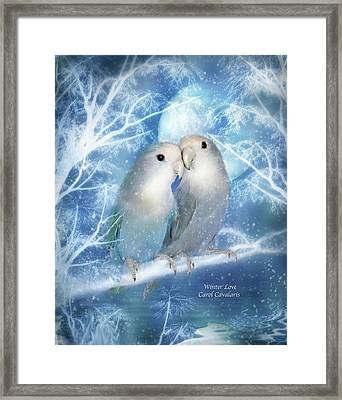 Winter Love Framed Print