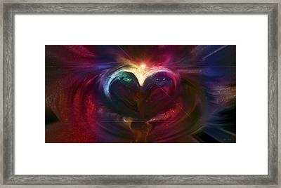 Winter Love Framed Print by Linda Sannuti