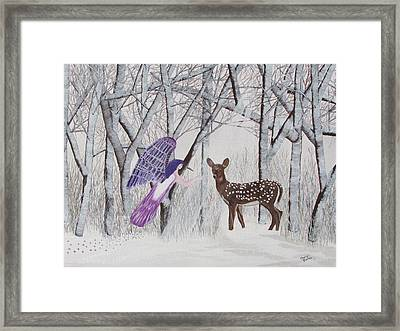 Winter Magic Framed Print by Cheryl Bailey