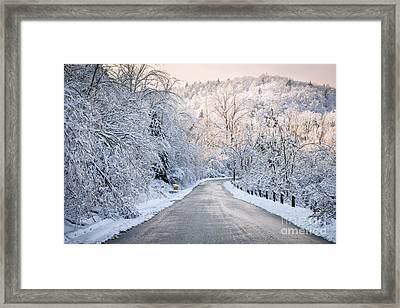 Winter Magic Framed Print by Elena Elisseeva