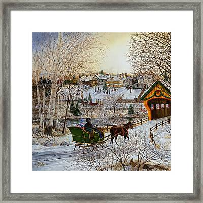Winter Memories 1 Of 2 Framed Print by Doug Kreuger