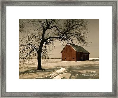Winter Memory Framed Print