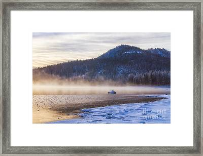 Winter Mist Framed Print by Anthony Bonafede
