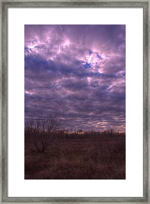 Winter Mood Framed Print by Kelly Kitchens