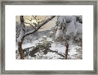 Winter Morning Framed Print by Bill Wakeley
