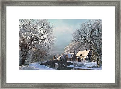 Winter Morning Framed Print by Dominic Davison