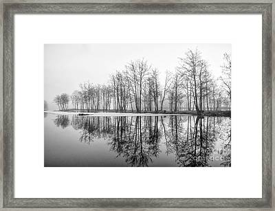 Winter Morning Framed Print by Mirra Photography