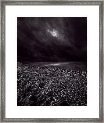 Winter Nightscape Framed Print by Bob Orsillo