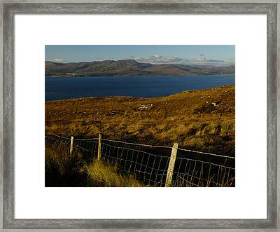 Winter On Bantry Bay Framed Print