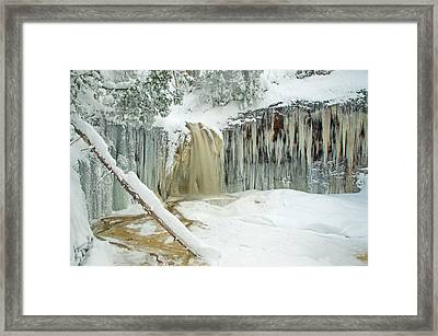 Winter On Carpenter Creek Framed Print