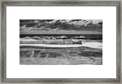 Winter On Long Island Framed Print by JC Findley