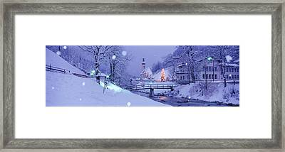 Winter Ramsau Germany Framed Print by Panoramic Images