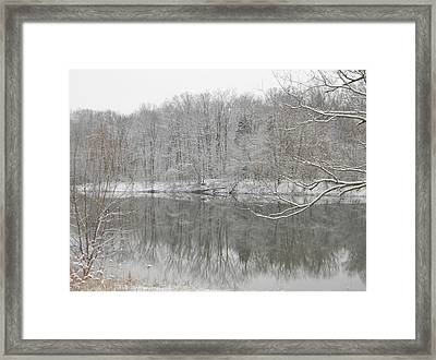 Winter Reflections 2 Framed Print
