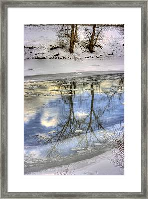 Winter Reflections Framed Print by John  Greaves