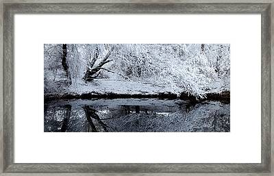 Winter Reflections Framed Print by Steven Milner