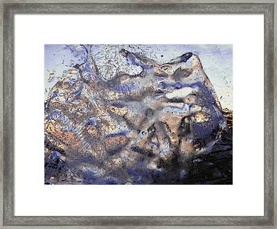 Framed Print featuring the photograph Winter Remains by Sami Tiainen