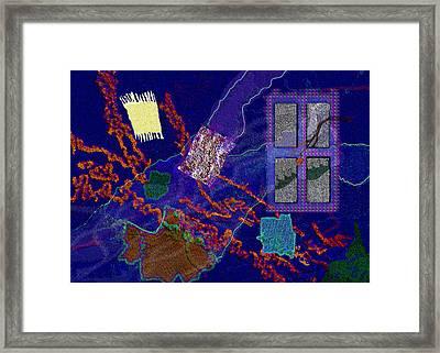 Winter Remnants Framed Print by Mathilde Vhargon