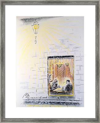 Winter Rendezvous Framed Print
