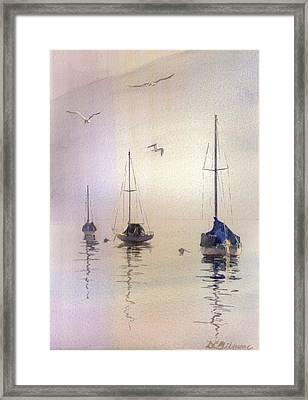 Winter Rest Framed Print by David Gilmore
