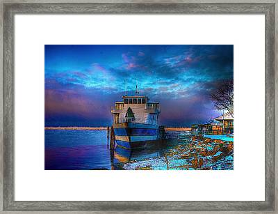 Welcome Sun Breaking The Cold Framed Print