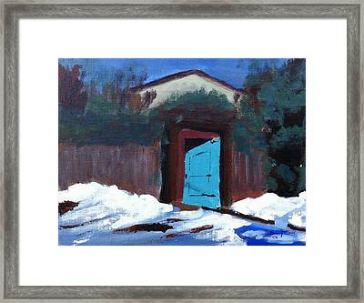 Winter Retreat Framed Print by Roy Gould
