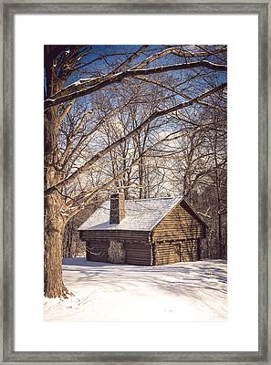Winter Retreat Framed Print