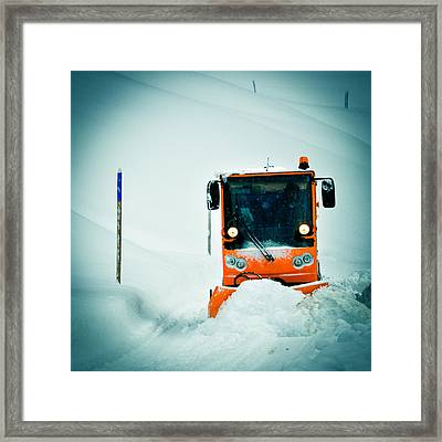 Winter Road Clearance Framed Print