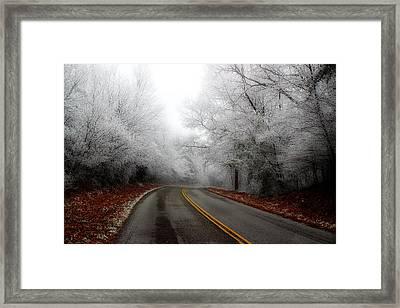 Winter Road Trip Framed Print by Michael Eingle
