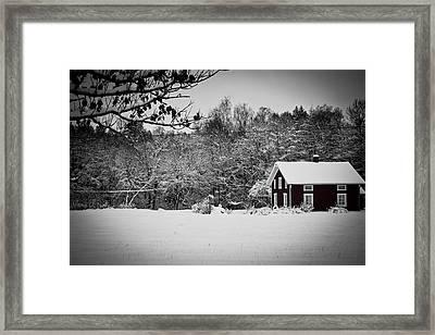 Winter Framed Print by Robert Hellstrom