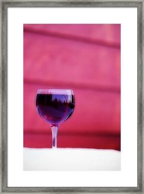 Winter Rose' Framed Print