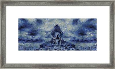 Winter Sanctuary Framed Print by Dan Sproul