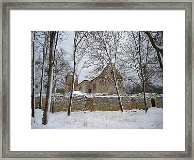 Framed Print featuring the photograph Old Monastery by Gabriella Weninger - David