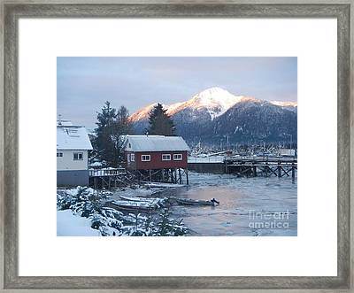 Winter Scenery Framed Print
