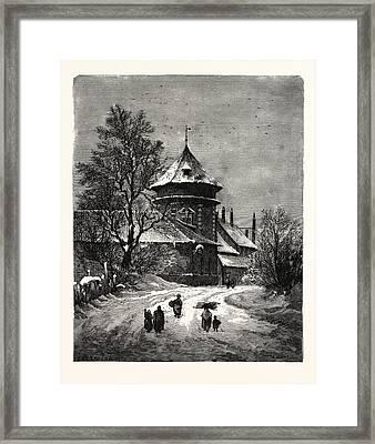 Winter Scenes, Winter Picture,winter Wonderland Framed Print by English School