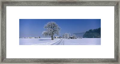 Winter Scenic, Austria Framed Print