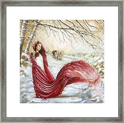 Winter Scent Framed Print by Karina Llergo