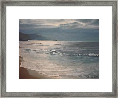 Winter Sea II Framed Print
