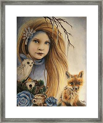 Winter Framed Print by Sheena Pike