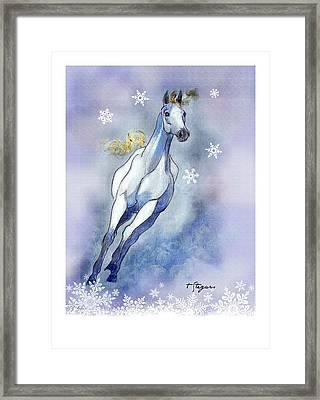 Winter Skye Framed Print
