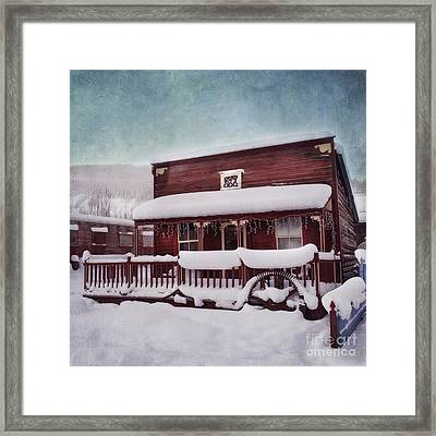 Winter Sleep Framed Print by Priska Wettstein