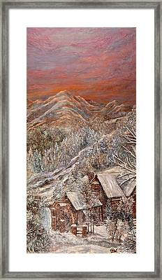 Winter Solace Framed Print by Barbara Willms
